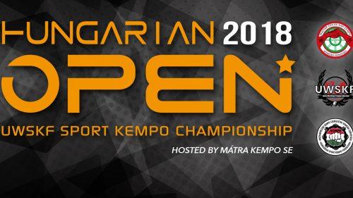 Sport Kempo Hungarian Open előzetes nevezései